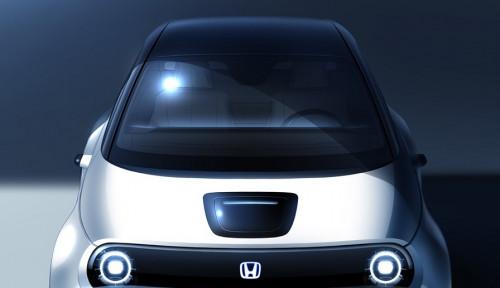 Foto Honda Siap Rilis Prototipe Mobil Listrik
