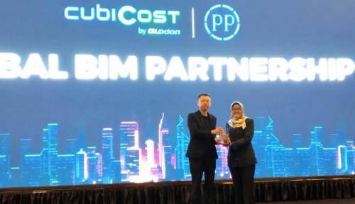 Foto Terdepan Dalam Era Konstruksi Digital, PTPP Raih Penghargaan BIM