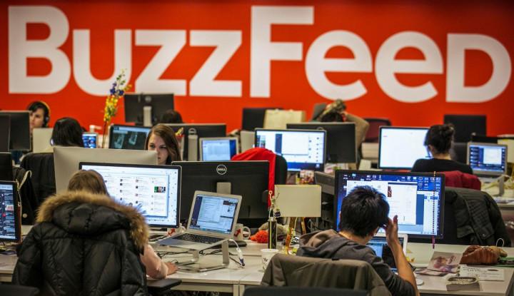 BuzzFeed PHK 15% Karyawannya - Warta Ekonomi