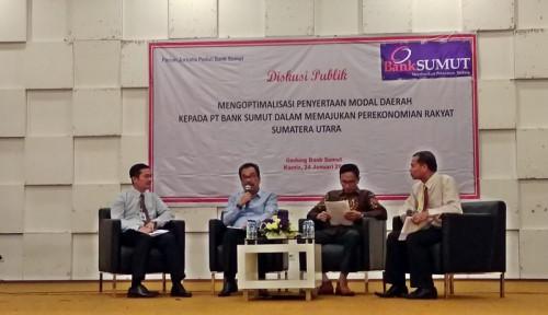 Foto Penyertaan Modal Bank Sumut Capai Rp783 M