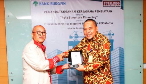 Foto Bank Bukopin dan Totalindo Kerja Sama Pembiayaan Structure Financing