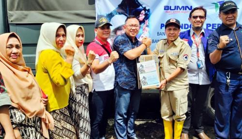 Pelindo IV Salurkan Bantuan Senilai Rp200 Juta untuk Korban Banjir Sulsel