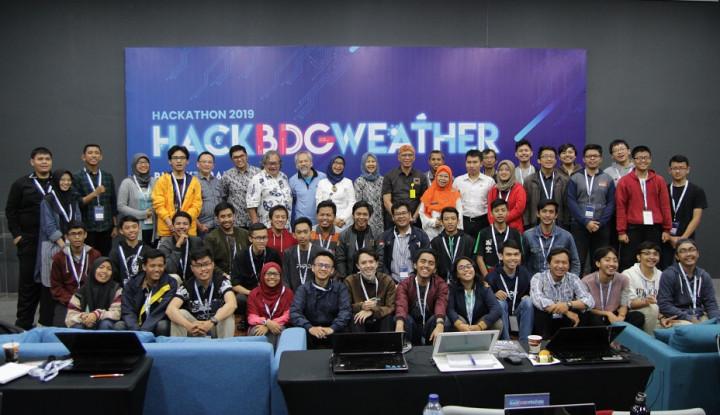 Foto Berita 15 Tim Developer Muda Lolos di Hackathon 2019: HACKBDGWEATHER