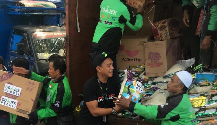 Foto Berita Gojek Peduli Distribusikan Bantuan 15 Ton untuk Korban Bencana di Sulawesi