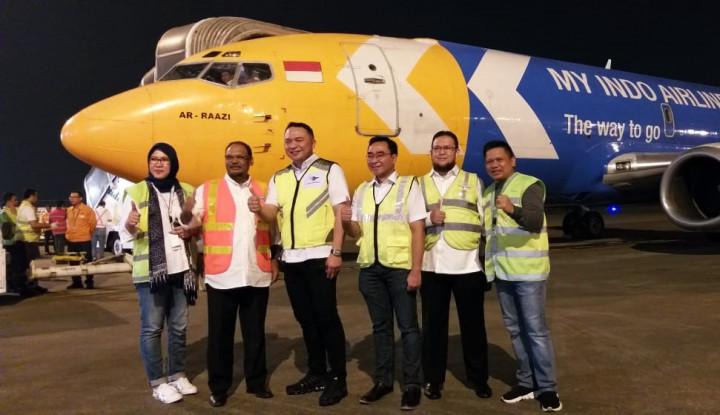 ResmikanCargo Freighter, Garuda Bidik 1 Juta Ton Angkutan di Kuartal I 2019 - Warta Ekonomi