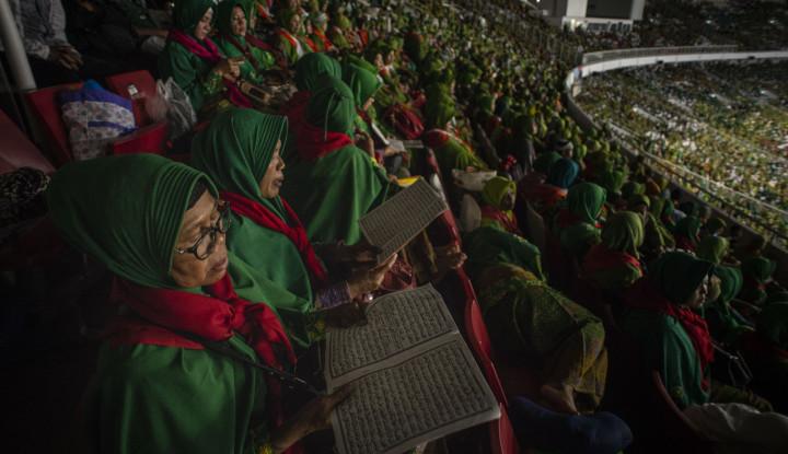 Dengan Kekuatan Teknologi, Ibu-Ibu NU Bakal Jaga Jokowi-Ma'ruf Amin - Warta Ekonomi