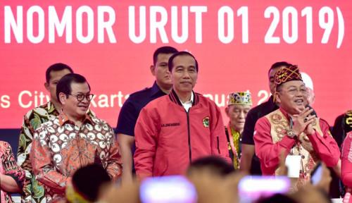 Foto PDIP Yakin Unggul 60% di Bandung dan Cimahi, Tapi Prabowo-Sandi Tipis....