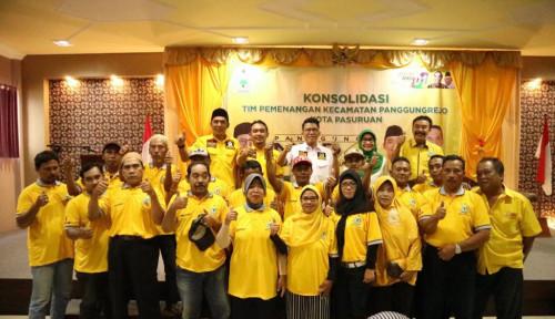Foto Relawan Emak-emak Misbakhun Kompak Dukung Jokowi