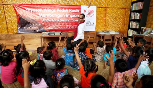Wings Resmikan Sarana Pendidikan dan Sanitasi di Sumba