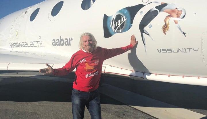 Miliarder Ini Ciptakan Pesawat Supersonik untuk ke Luar Angkasa