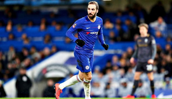 Cuma Beri 5 Gol, Alvaro Higuain Dibuang Chelsea - Warta Ekonomi