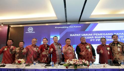 Foto Ibu Kota Mau Pindah, PTPP Lihat Peluang
