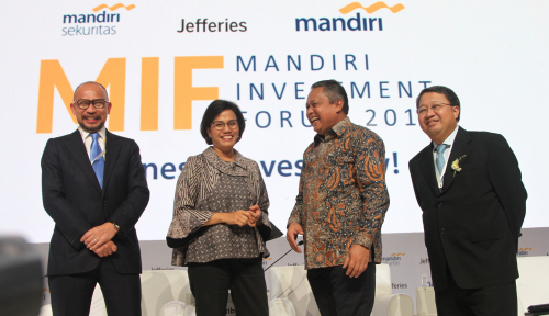 Foto Mandiri Investment Forum Promosikan Peluang Investasi di Indonesia