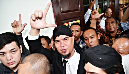 Foto Dapat Diskon Hukuman, Ahmad Dhani Segera Bebas!