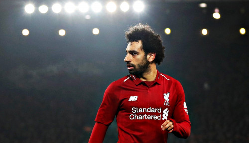 Foto Hanya Sementara, Neville: Salah Jadikan Liverpool Batu Loncatan