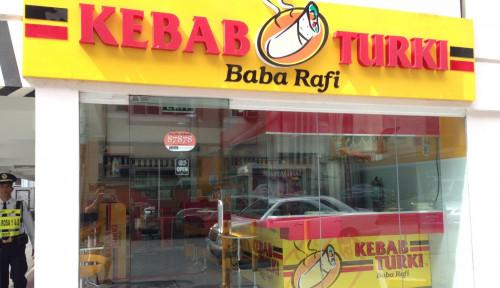 Foto Sabet Penghargaan Ini, Kebab Baba Rafi Jadi Merek Waralaba Nomor Satu