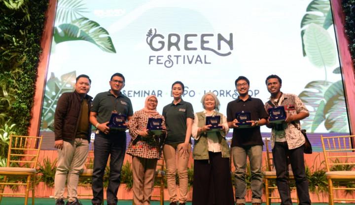 BRI-Pupuk Indonesia Gelar Spirit of Millenials: Green Festival - Warta Ekonomi