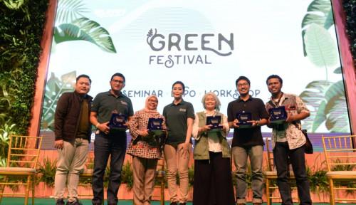Foto BRI-Pupuk Indonesia Gelar Spirit of Millenials: Green Festival