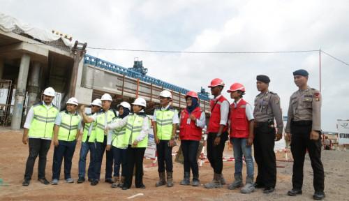 Foto Tol Trans Sumatera Ruas Bakauheni-Terbanggi Besar Siap Beroperasi
