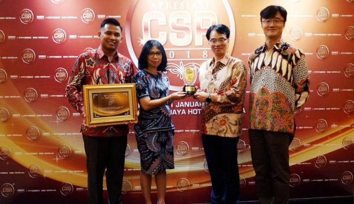 Hanwha Life Raih Apresiasi CSR Sindo 2018 - Warta Ekonomi