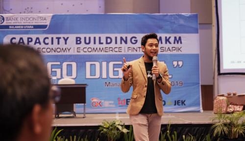 Foto Bank Indonesia Sulut dan Go-Jek Beri Pelatihan Wirausaha untuk 200 UMKM