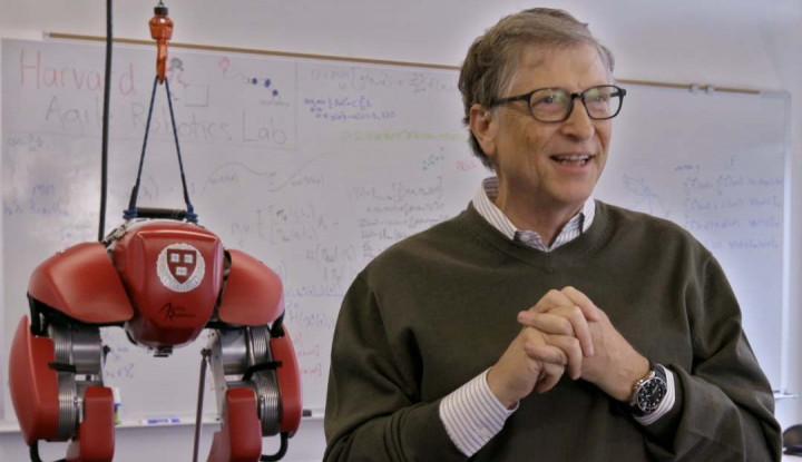 Foto Berita Omongan Bill Gates 10 Tahun Lalu Jadi Bahan Teori Konspirasi Lagi