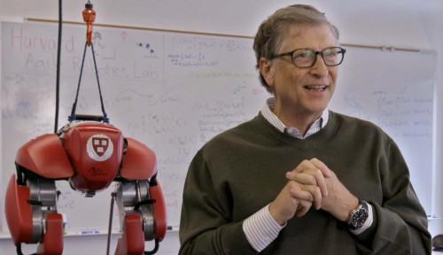 Foto Enak Banget! Bill Gates Bilang Negara Kaya Bakal Segera Bebas dari Pandemi Covid-19