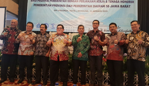 Foto Proteksi PPPK dan Tenaga Honorer se-Jawa Barat, Ridwan Kamil Apresiasi Taspen