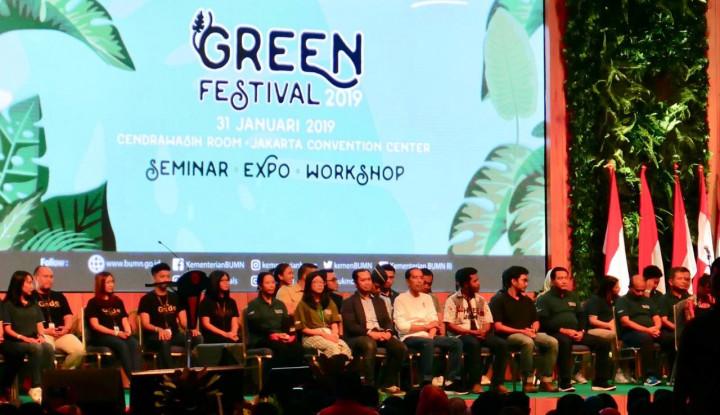 Hadir di Green Festival 2019, Ini Harapan Jokowi ke Generasi Milenial - Warta Ekonomi