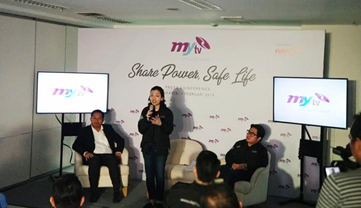 Perdana Tayang!!! MyTV, Televisi Perempuan Pertama di Indonesia - Warta Ekonomi