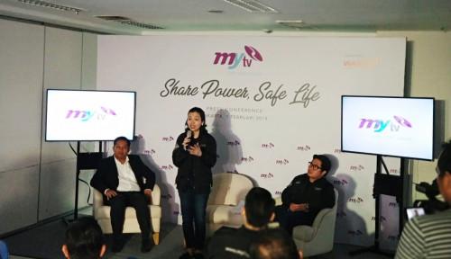 Foto Perdana Tayang!!! MyTV, Televisi Perempuan Pertama di Indonesia
