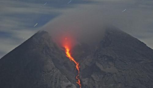 Foto Gunung Merapi Kembali Erupsi, Tinggi Kolom Capai 1.000 Meter