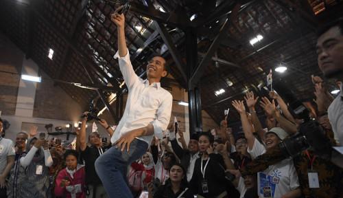 Foto Yahh, Tangan Jokowi Tercakar, Sakit Pak?