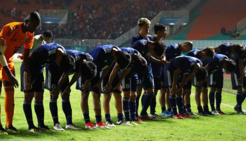 Foto Lagi, Jepang Tak Lupa Bersih-Bersih Ruang Ganti Meski Kalah di Piala Asia