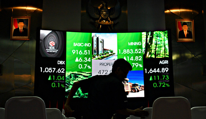 Balik ke Level 6.500, IHSG Ditutup Naik 0,29% - Warta Ekonomi