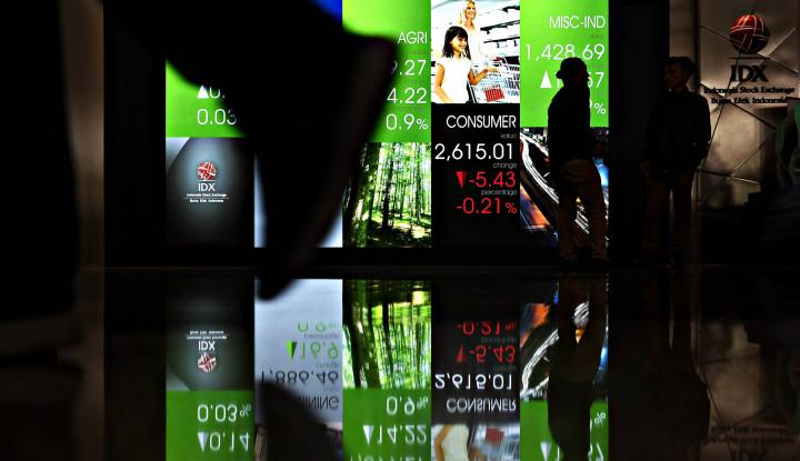 Senasib dengan Rupiah, IHSG Tenggelam 0,39% di Akhir Sesi I - Warta Ekonomi