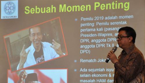 Foto Pemilu Bukan Hanya Pilpres, Dewan Pers Kritisi Peran Media di Tahun Politik