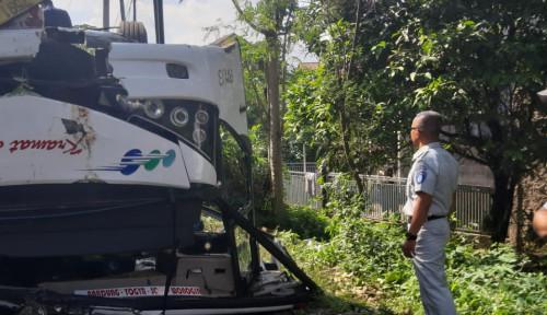 Foto Sempat Kabur Polisi Berhasil Amankan Supir Bus Maut Kramat Jati