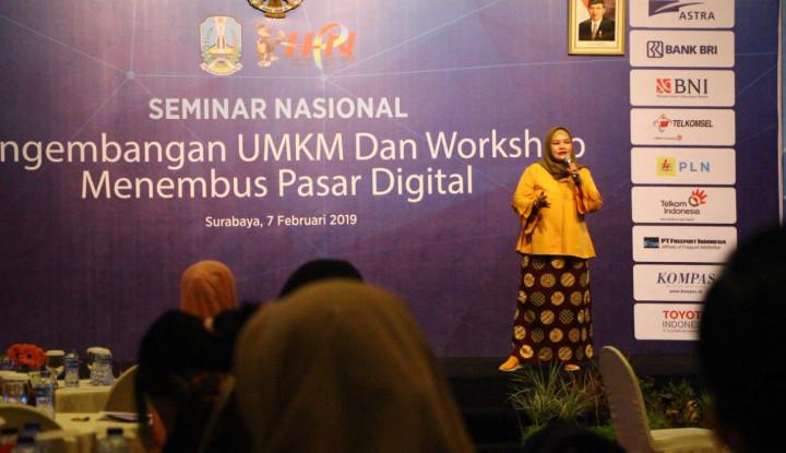 Dua Pelaku Usaha Pahlawan Ekonomi Bagi Tips Sukses di Seminar HPN - Warta Ekonomi