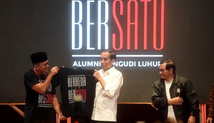 Jokowi Dapat Tambahan Dukungan dari Alumni SMA Se-Jakarta - Warta Ekonomi