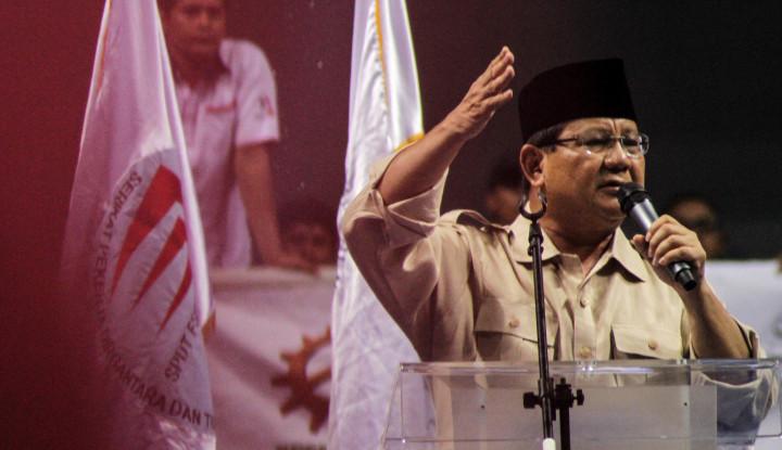 Diserang Soal Penguasaan Ratusan Ribu Hektar Lahan, Prabowo Marah? - Warta Ekonomi
