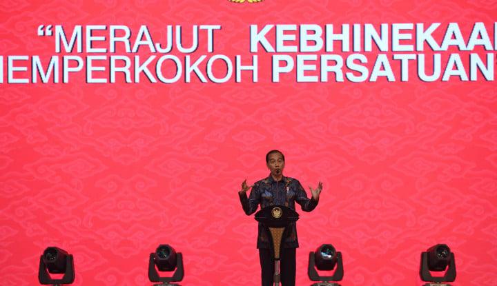 Foto Berita Polisi Tolak Laporan Pernyataan Jokowi Soal Propaganda Rusia, Alasannya?