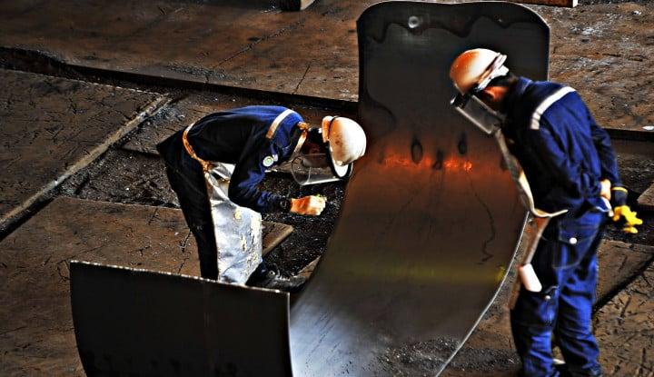 Krakatau Steel dan Pertagas Kerja Sama Pengadaan Material Pipa Minyak Blok Rokan