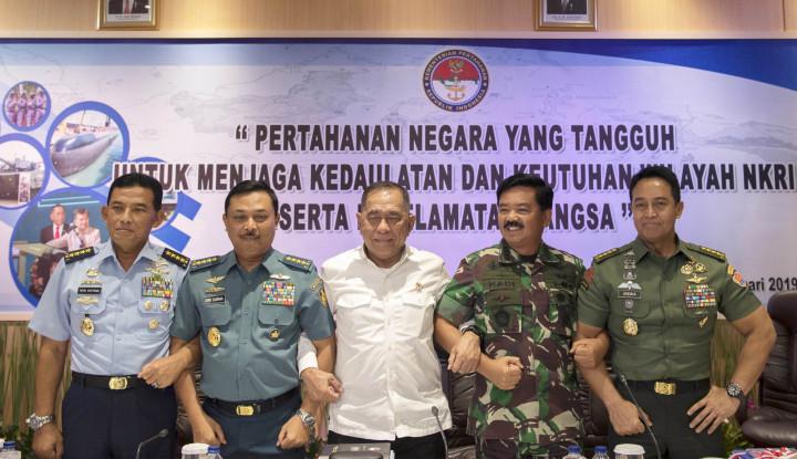 Foto Berita Panglima TNI: Operasi Ini Harus Membangun Kesadaran atas Komitmen Netralitas Pemilu