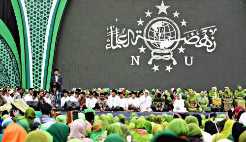 Nyalon Jadi Wali Kota Surabaya, Mantan Kapolda Jatim Sambangi Harlah NU Ke-97