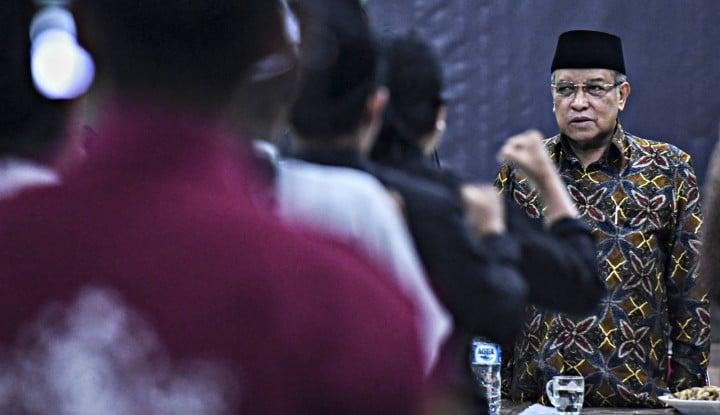 Depan Pak Wapres, Ketua NU Kritik Pemerintah soal BPJS hingga Skandal Jiwasraya - Warta Ekonomi