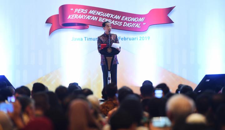Jokowi: Media Harus Bisa Mencari Fakta - Warta Ekonomi