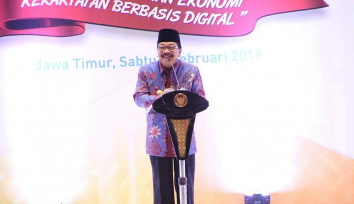 Foto Berita Gubernur Jatim Sebut Wartawan 'Bodrex' di Kegiatan HPN