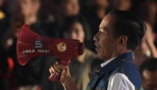 Foto Satu Bulan Menuju Pilpres, Jokowi Masih Unggul?