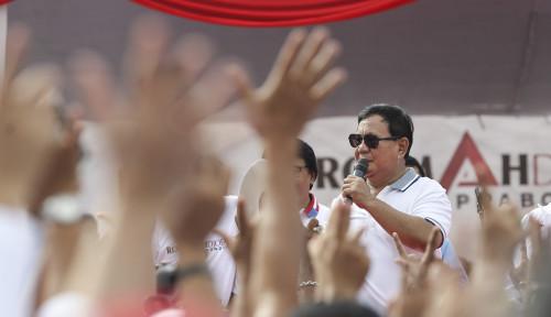 Foto Sumsel Memang Basis Pemilih Prabowo...